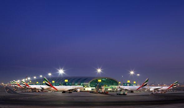 Emirates_Terminal 3 dawn