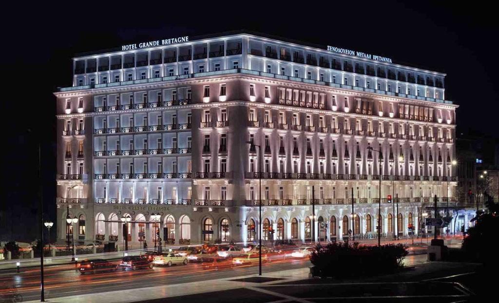 Grande Bretagne Hotel, Athens.