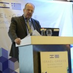 "Tel Aviv: Israel-Greece Business Forum - Alkiviadis Kalambokis, President & CEO, Hellenic Foreign Trade Board (HEPO) delivered the speech ""Greece-Israel: Increase the value."""