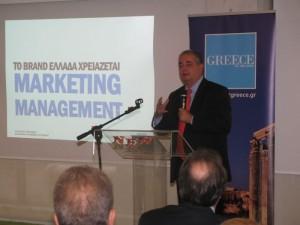 Greek National Tourism Organization Secretary General Panos Livadas