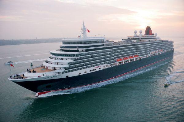 Cunard Queen Elizabeth.