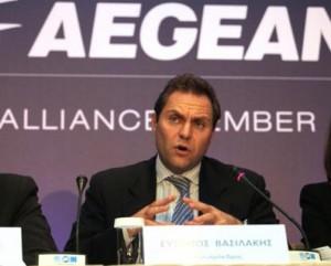 AEGEAN's Vice-President Eftychios Vassilakis.