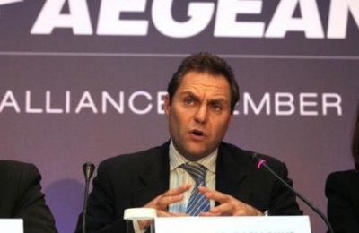 AEGEAN's Vice-President Eftychios Vassilakis.