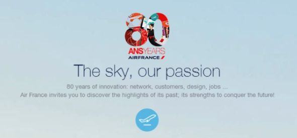 air-france-80-years-website