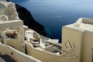 Mystique Hotel, Santorini.