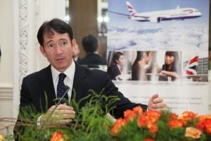 Gavin Halliday, British Airways Area Manager, Europe & Africa