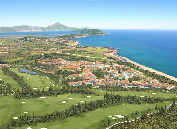 Panorama of Costa Navarino.