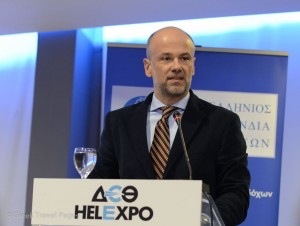 Yiannis Retsos, president of the Hellenic Federation of Hoteliers.