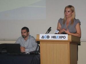 Vice governor of Region of South Aegean, Eleftheria Ftaklaki