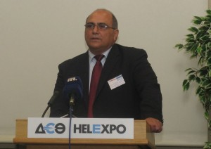 Konstantinos Moundros of the Chios Municipal Tourism Committee of Promotion & Development