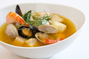 """Bouillabaisse"" is one of the most famous dishes of Marseille."