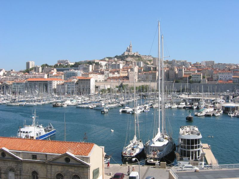Old Port in Marseille.