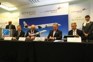 The alliance between Swiss regional carrier Darwin and UAE's Etihad will become Etihad Regional, with growing service throughout Europe.