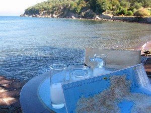 Lesvos is known for it's ouzo.