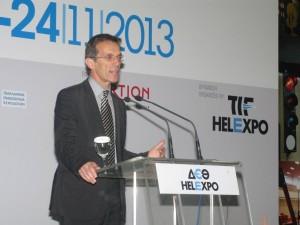 TIF-HELEXPO President Tasos Tzikas