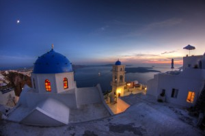 Santorini (photo: 10best.com).