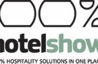 100% Hotel Show logo