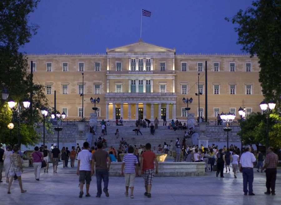Syntagma Square, Athens. Photo source: ACVB