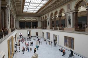 The Brussels Musée des Beaux Arts (Bozar).