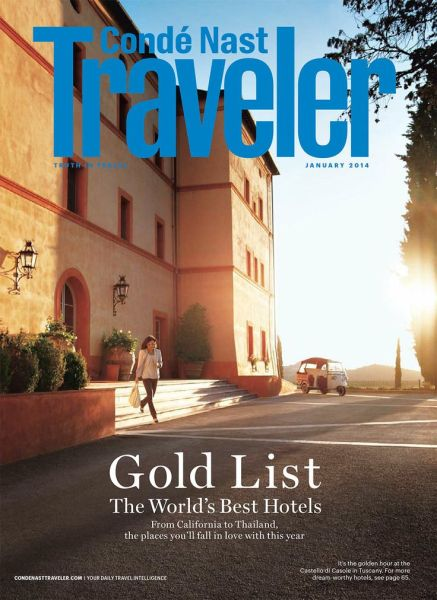 press conde nast traveller january