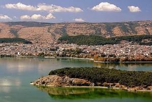 Pamvotis Lake, Epirus.