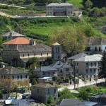 Skamneli village in Zagori, example of Epirotic architecture.