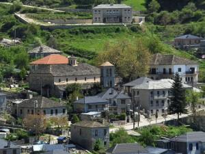 Skamneli village in Zagori, example of Epirotic architecture.