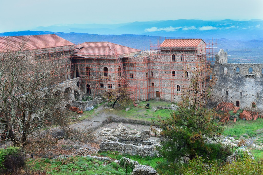 Mystras - The Despot's Palace