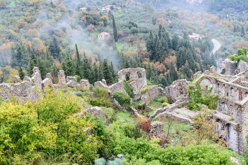 Ruins from the upper city