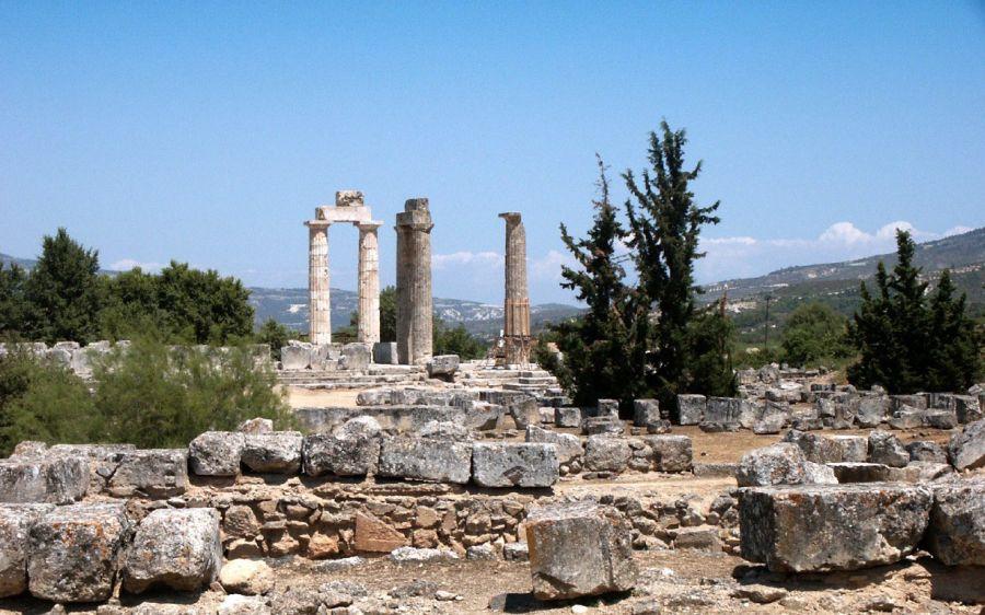 Nemea, in the north of the Peloponnese peninsula, Greece.
