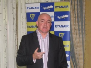 """Domestic monopoly is bad for Greece as prices go up and availability goes down,"" Ryanair's commercial director, David O'Brien, said during a press conference in Athens."