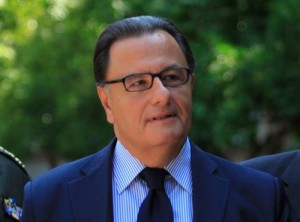 Greek Culture Minister Panos Panagiotopoulos