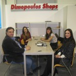 Dimopoulos Shops, decorating equipment - Dimitris Dimopoulos, president & CEO and Maria Chatzistavrou, owner at  Lime Deco, Interior Designs.