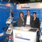 Hellenic Association of Professional Congress Organizers (HAPCO) - Lydia Mastronikoli, director general and Dora Sgartsou, press officer.