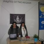 Pirates of the Aegean – Angeliki Vaxevanaki, Pirates creator (right).