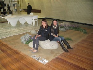 Creators of the garden from Archetopo Landscape Design.