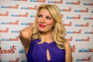 Popular Greek talk show host Eleni Menegaki.