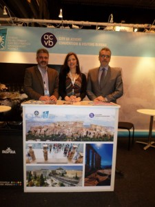 """The Athens Convention & Visitors Bureau (ACVB) - The opening """"Greek Night"""" gala event for Grekland Panorama's invited Swedish VIP guests, media and tourism professionals was dedicated to Athens and Attica."""