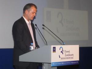Peloponnese Tourism Organization President Konstantinos Marinakos