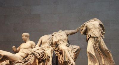 Parthenon Marbles in British Museum.