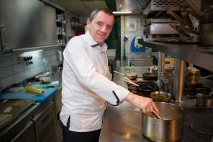 Chef Michel del Burgo