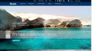 Marketing Greece's destination portal discovergreece.com.