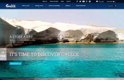 Marketing Greece's destination portal discovergreece.com.