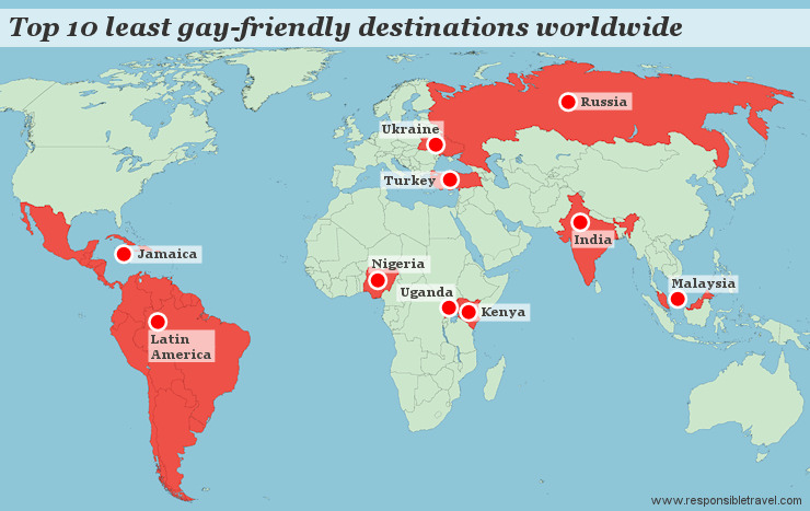 Homosexuality different countries