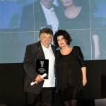 Lefteris Lazarou (Varoulco - Athens) with Annie Iliopoulou (Publisher of Athinorama)