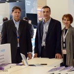 GTP - Philippe Kitsopoulos of Danae Travel Bureau with Stefanos and Leta Psimenou from Terrain maps.