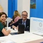 Grace Hotels - Bessy Kafhitsa, sales manager of Grace Hotels and Maic Haverstreng from Dertour Deluxe.