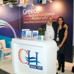 Cretan Holidays - Kostas J. Badouvas, Contracting Director and Simone Lehnigk, Product Manager Individual Holidays Marketing.