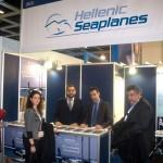 Hellenic Seaplanes - Nicolas Charalambous, President & CEO (left).