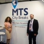 MTS City Breaks - Nicky Tzanetou, International Sales Manager and Manos Psathas, Sales Executive.